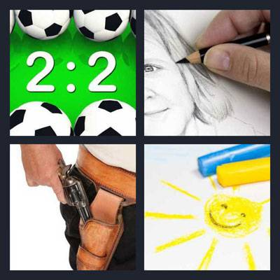 4 Pics 1 Word level 14 answers
