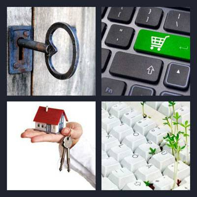 4 Pics 1 Word level 8 answers