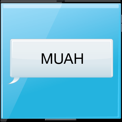 What does MUAH mean